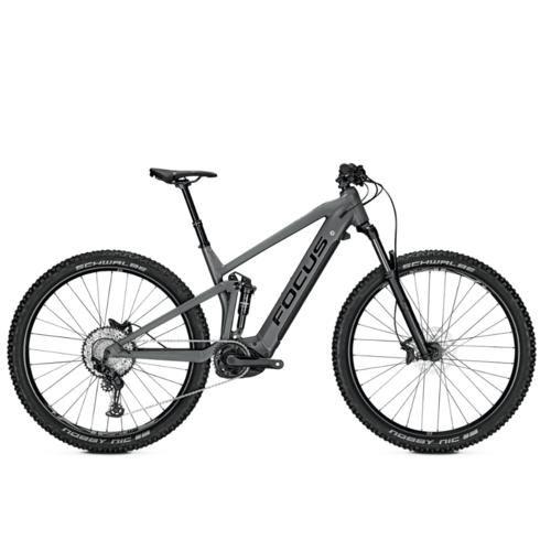 THRON FOCUS 2021 VTT électrique tout suspendu Crédit photo @focus bikes