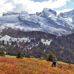 L'Aravigorante - Tour du Lachat face aux Aravis - balade en VTTAE