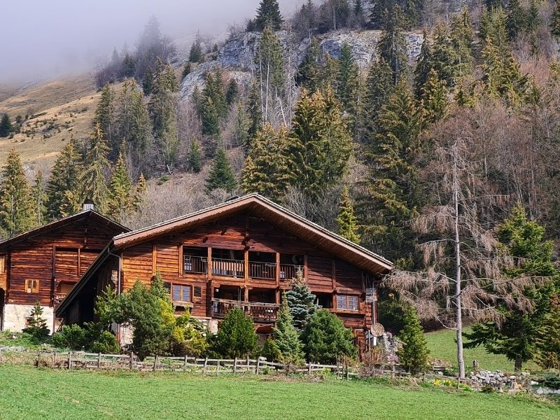 Appartement à louer dans vieille ferme d'alpage au Chinaillon Grand Bornand