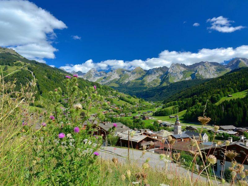 village du Grand Bornand - credit photo David Machet - Mediatheque Aravis.com