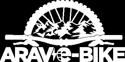 Logo Aravebike Blanc png